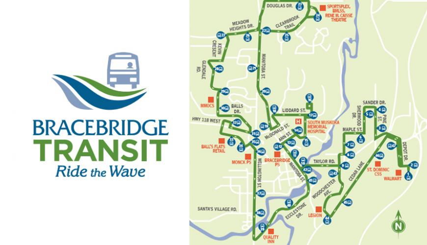 Town of Bracebridge will begin offering transit service within the urban area of town