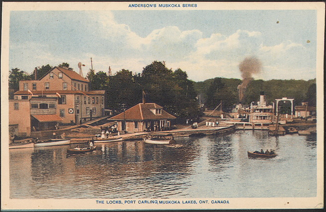 The Locks, Port Carling, Muskoka Lakes