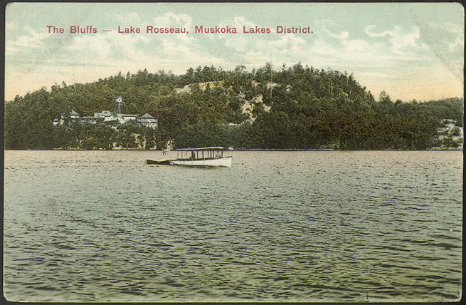 The Bluffs, Lake Rosseau, Muskoka Lakes District