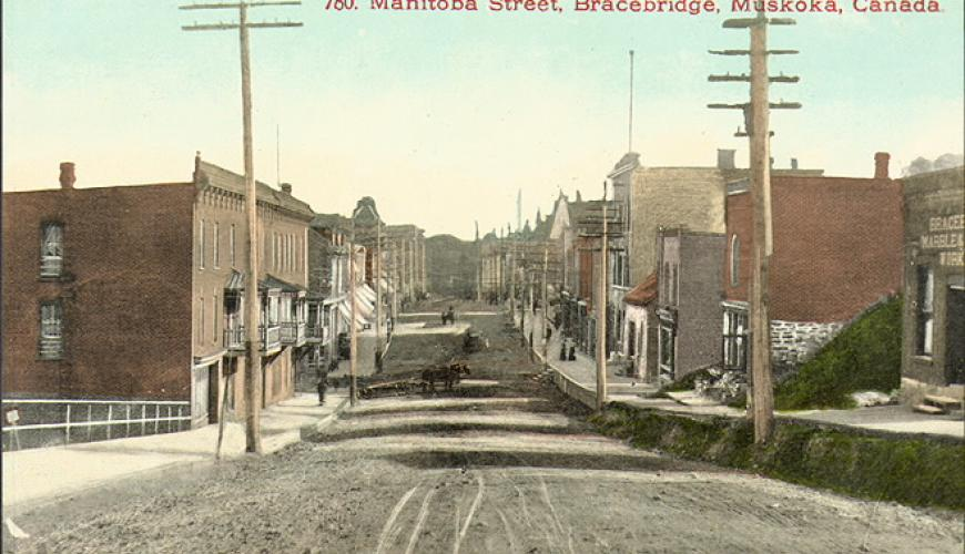 Bracebridge Post Cards from the Past