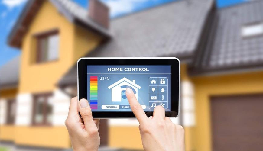 Controlling your home from your phone