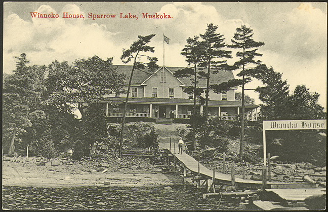 Wiancko House, Sparrow Lake, Muskoka