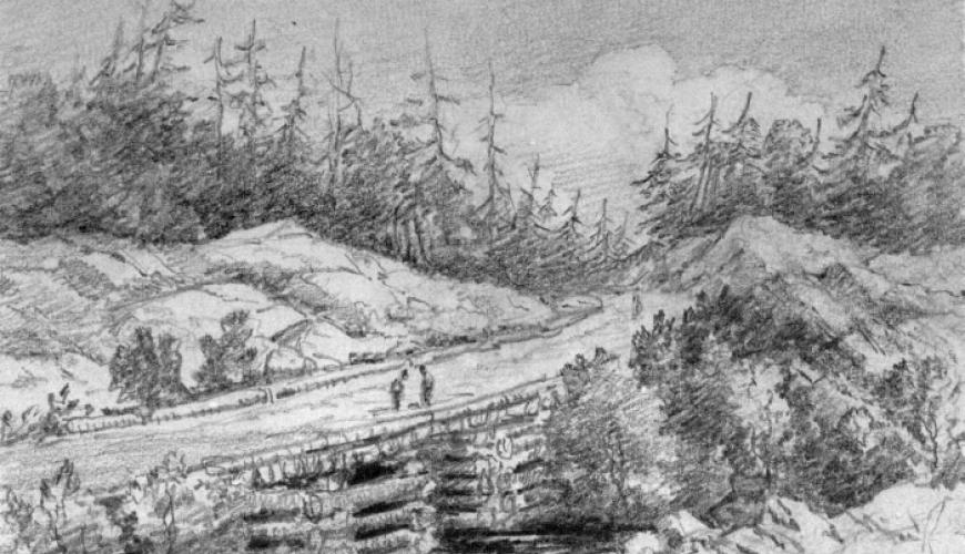 Gravenhurst Sketches from the Past