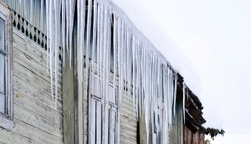 Ice Damming and prevention at your cottage