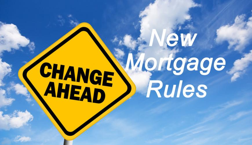 New mortgage rules come into effect