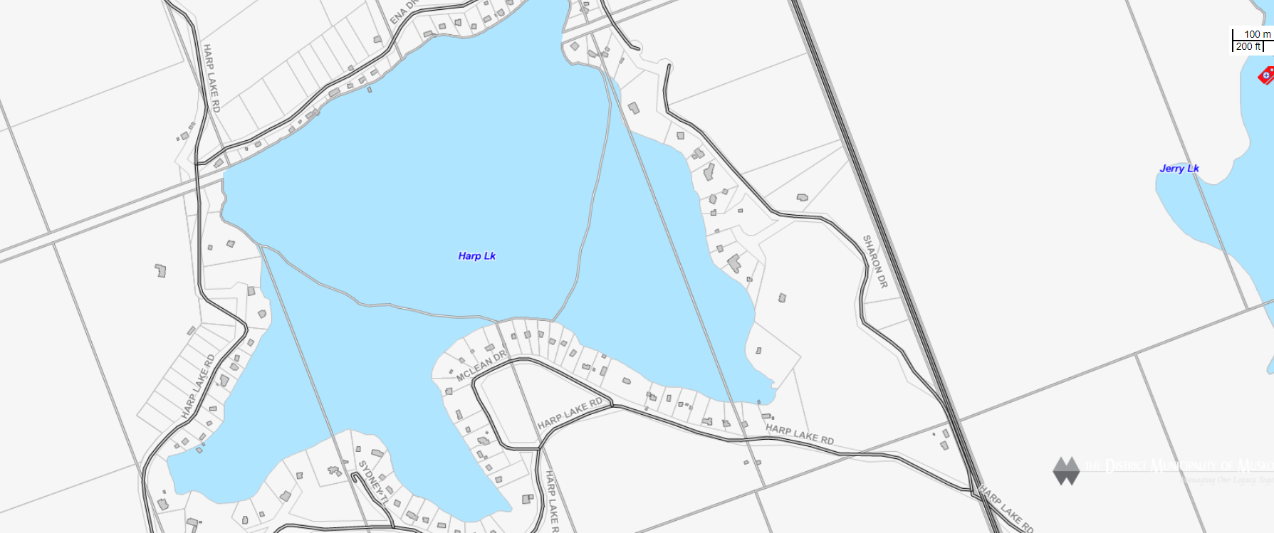 Harp Lake - (Huntsville)