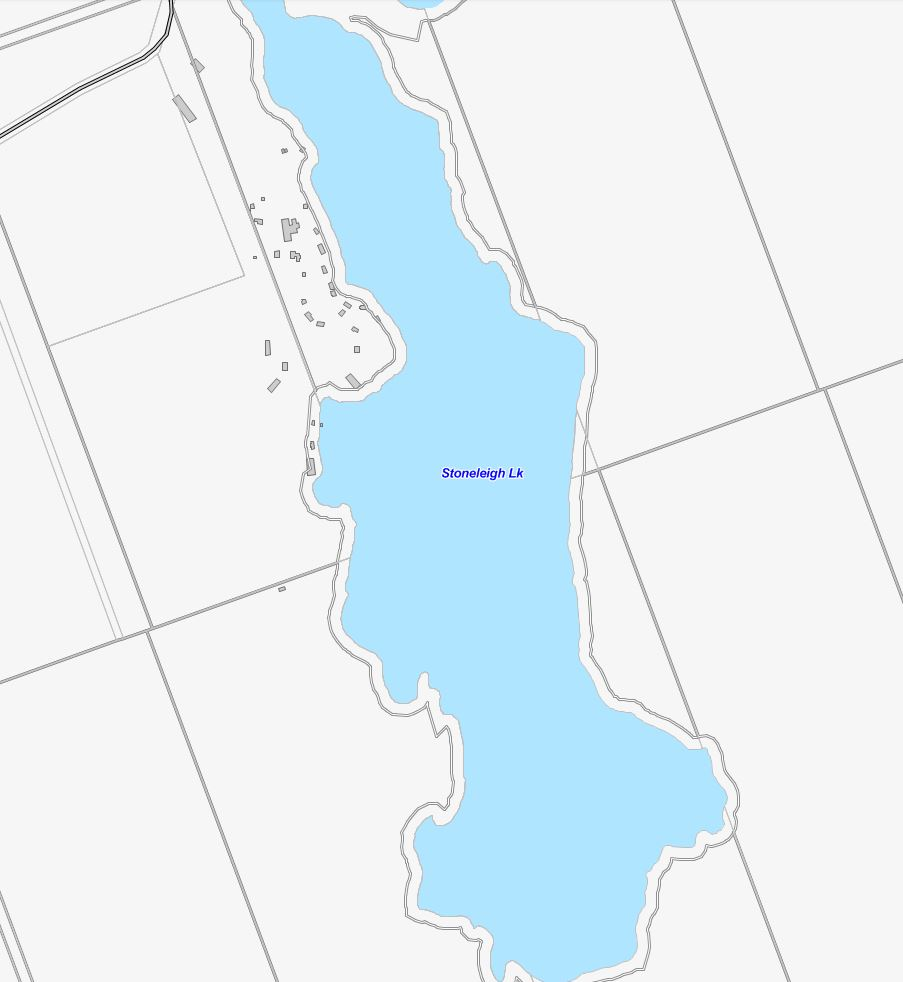 Stoneleigh Lake Cadastral Map - Stoneleigh Lake - Muskoka