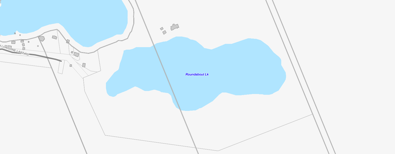West Buck Lake Cadastral Map - West Buck Lake - Muskoka