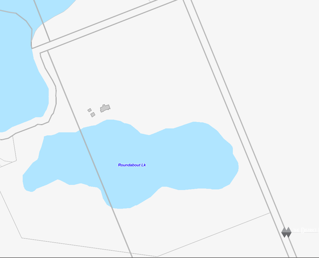 Angel Lake Cadastral Map - Angel Lake