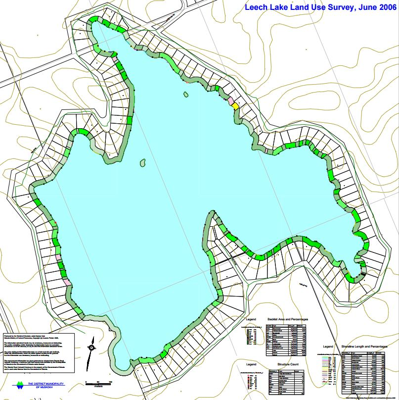 Land Use Map of Leech Lake - Leech Lake
