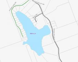 Cadastral Map of Atkins Lake
