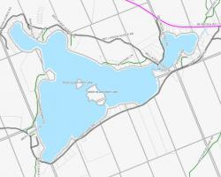 Cadastral Map of Paint Lake