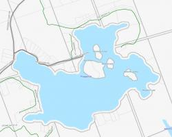 Cadastral Map of Prospect Lake