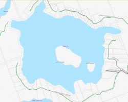 Cadastral Map of Clear Lake