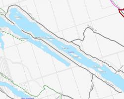 Cadastral Map of Loon Lake